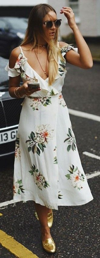 vestido verao floral