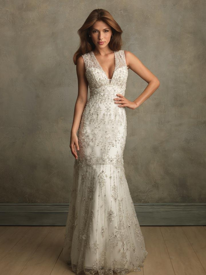 vestido vintage elegante para noiva