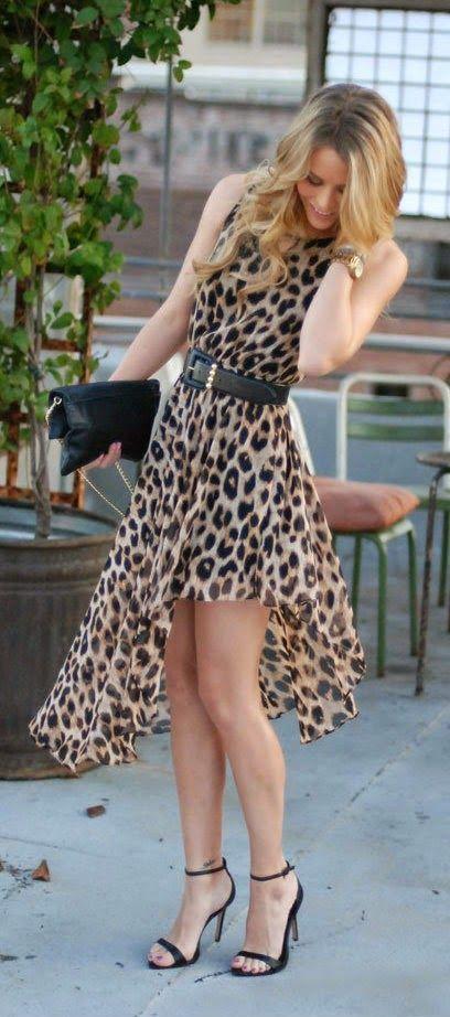 vestidos animal print 2