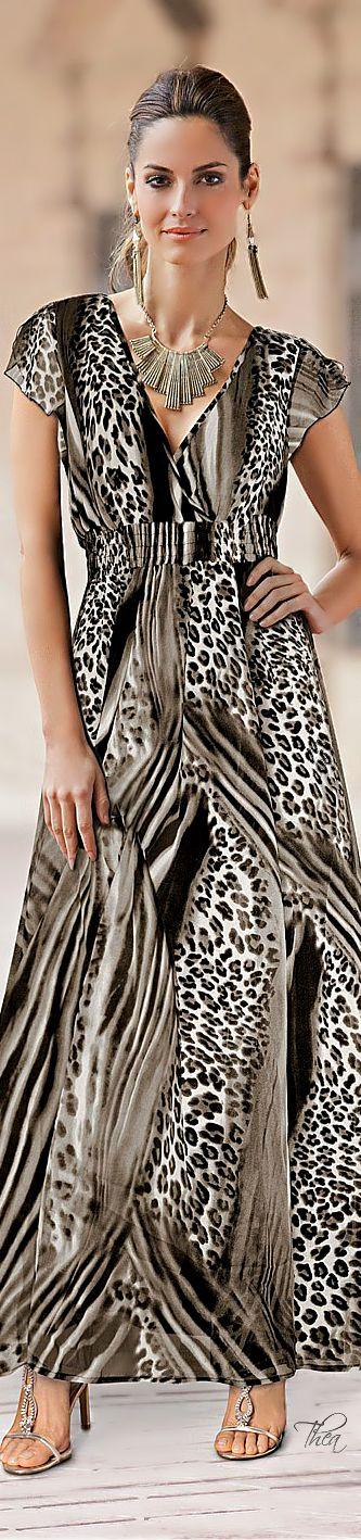 vestidos animal print 4