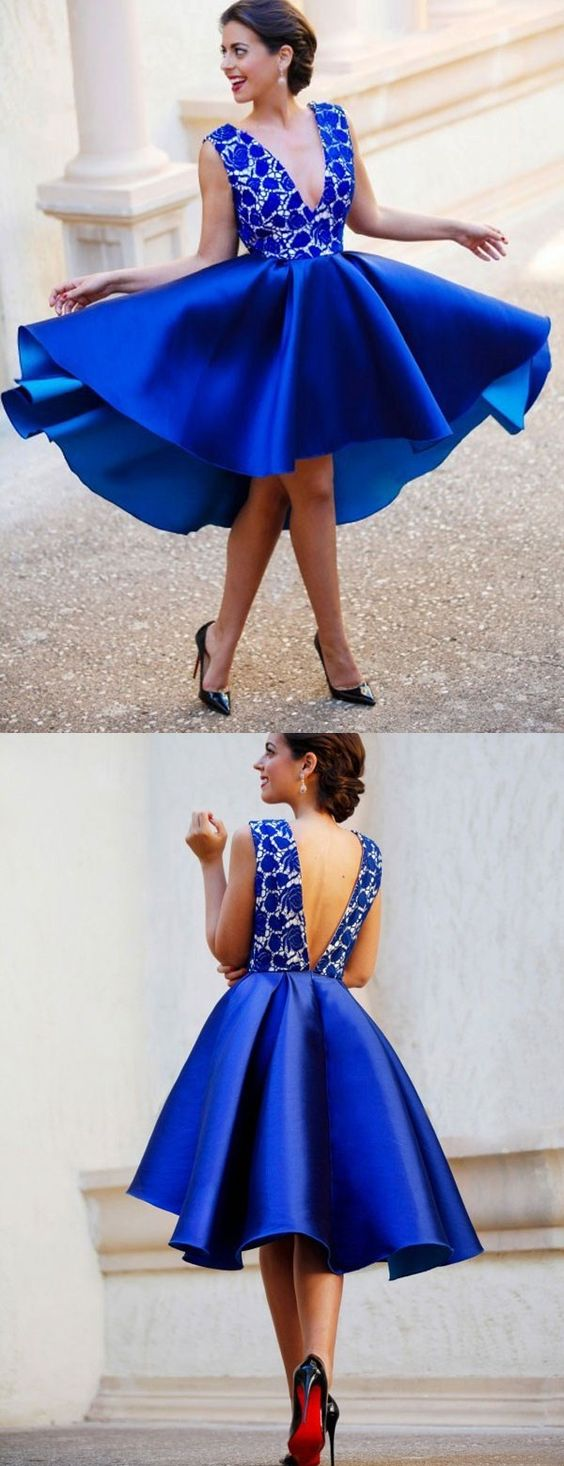 vestidos azul royal 5