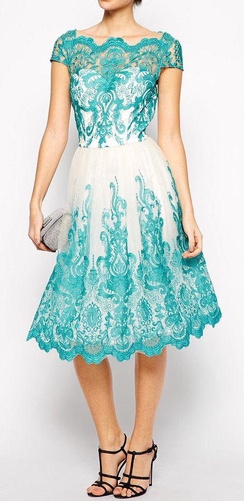 vestidos bonitos pintado