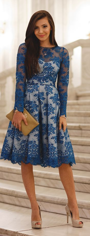vestidos bonitos renda
