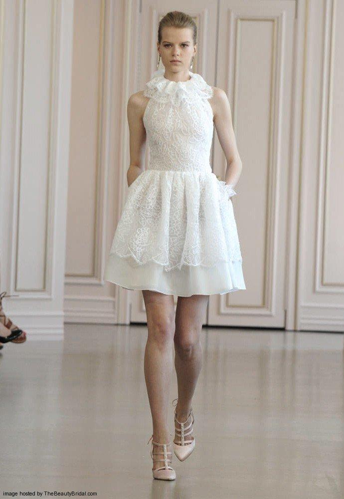 vestidos de noiva curto 2016