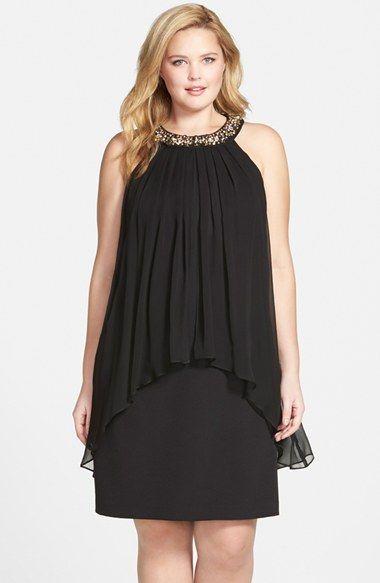 vestidos disfarçam barriga sobreposto.basico