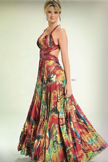 vestidos festa estampados 1