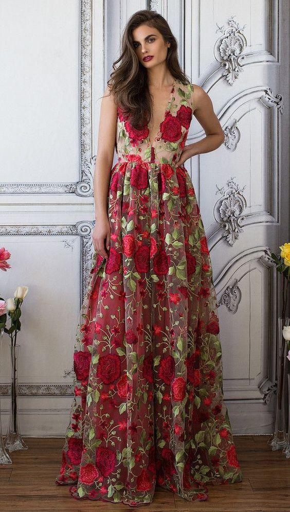 vestidos festa estampados 6