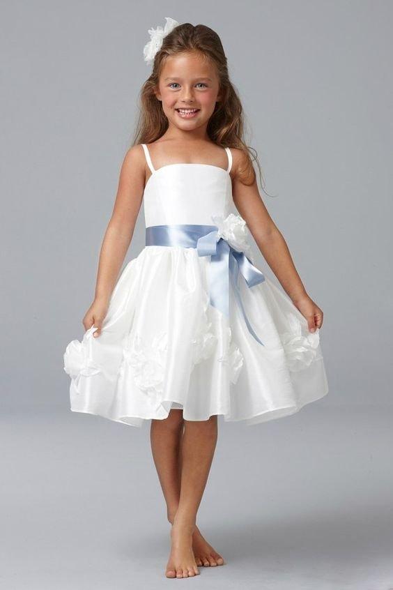 vestidos festa menina branco
