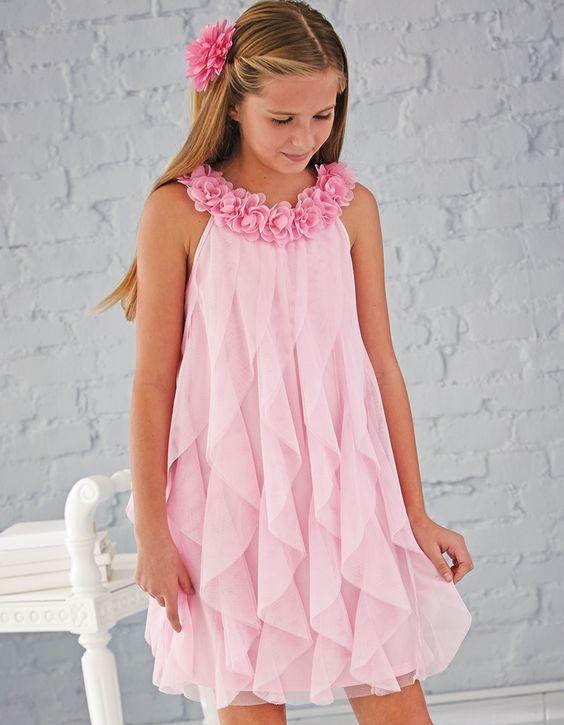 vestidos festa menina flores