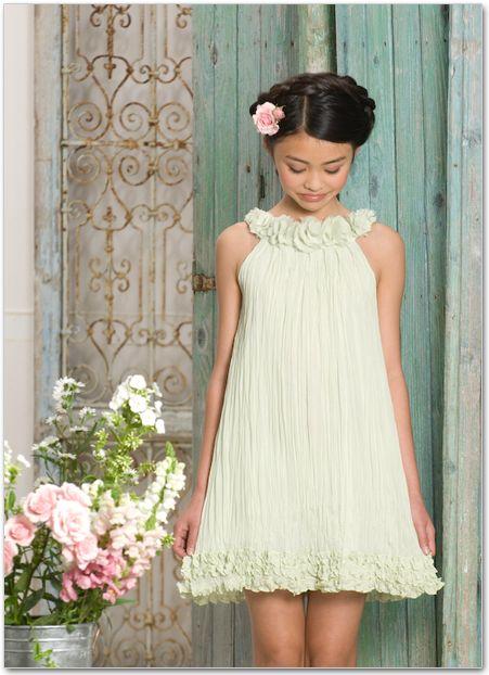 vestidos festa menina simples