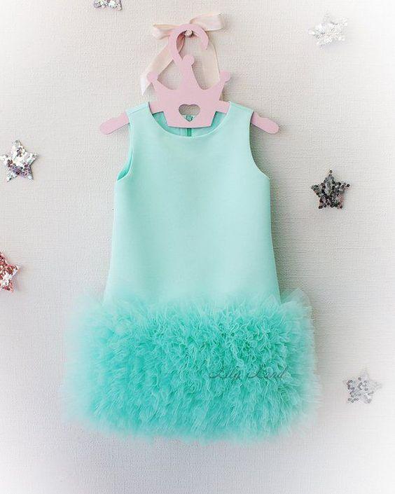 vestidos festa menina tule