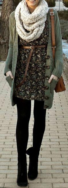 vestidos inverno 1