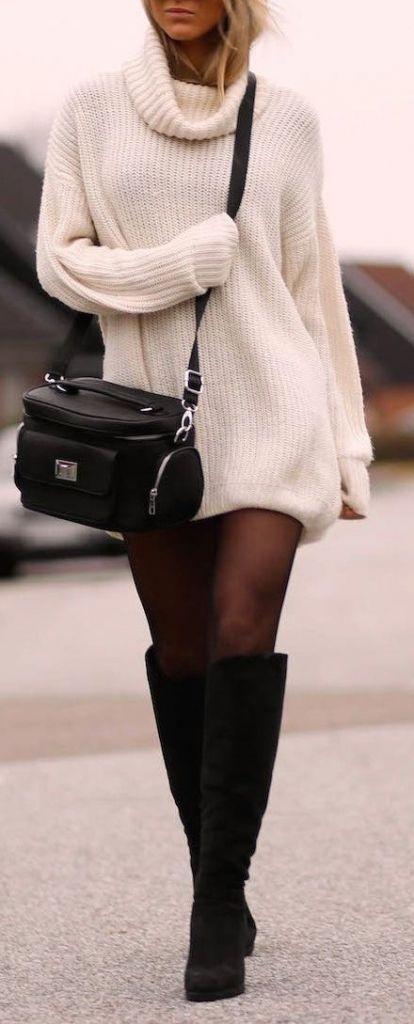 vestidos inverno