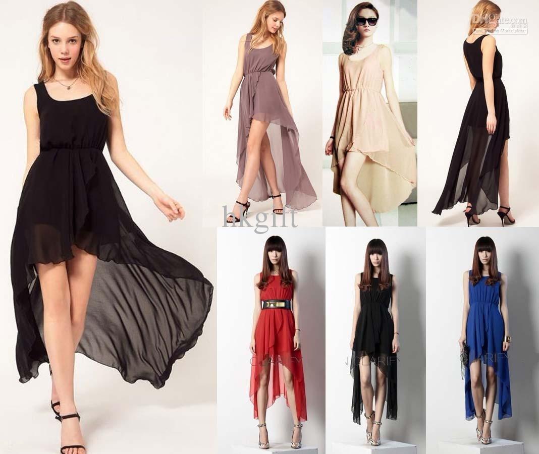 vestidos longos casual