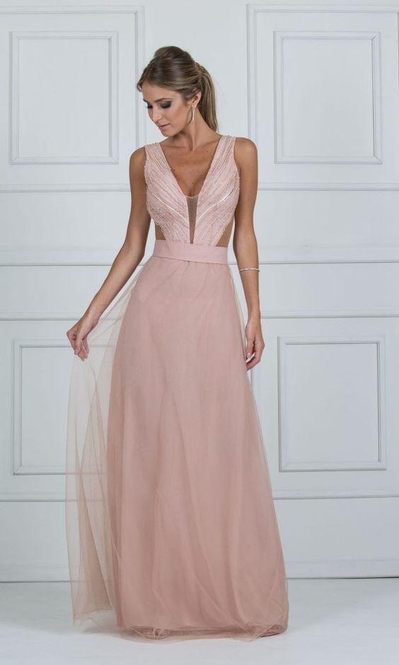 vestidos madrinha casamento rosa