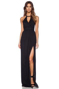 vestidos magras preto