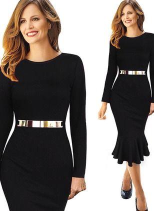 vestidos manga comprida 2