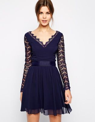 vestidos manga comprida 4