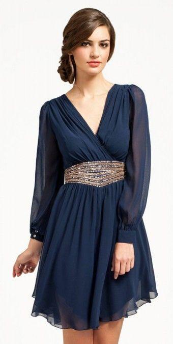 vestidos manga comprida 5