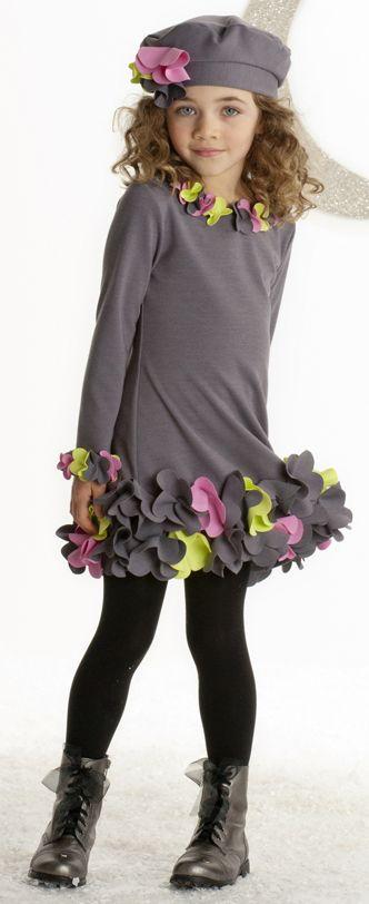 vestidos menina inverno 1