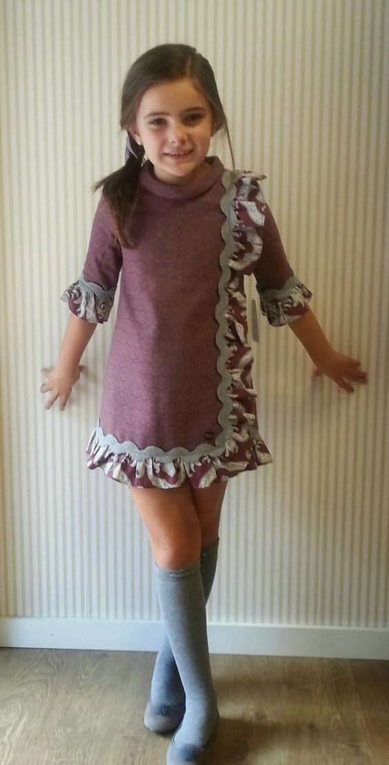 vestidos menina inverno 2