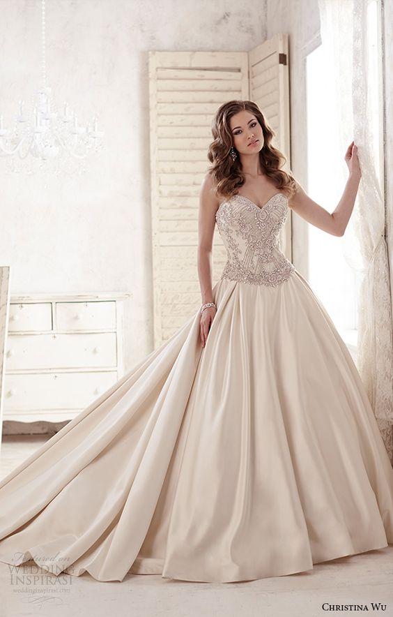 vestidos noiva Christina Wu princesa