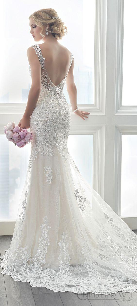 vestidos noiva Christina Wu