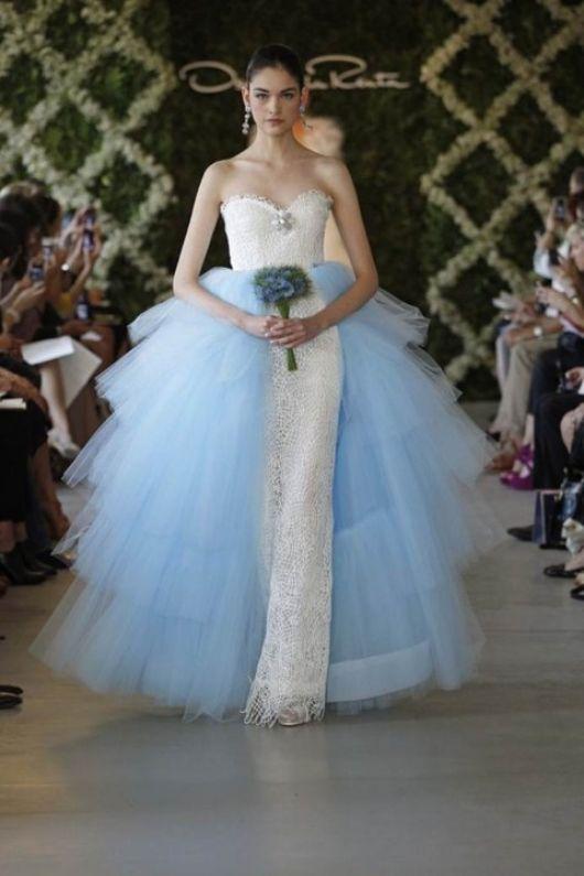 vestidos noiva coloridos azul 1