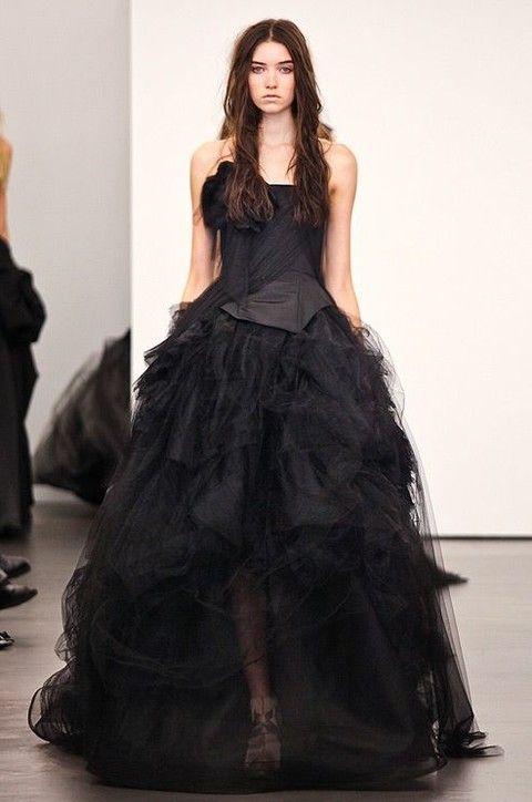 vestidos noiva coloridos preto