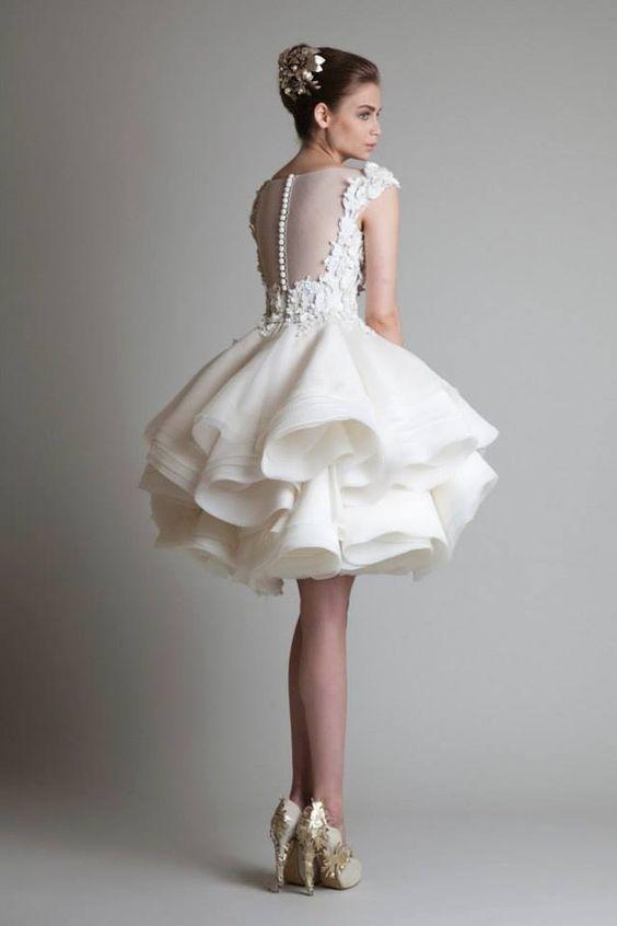 vestidos noiva curtos 7