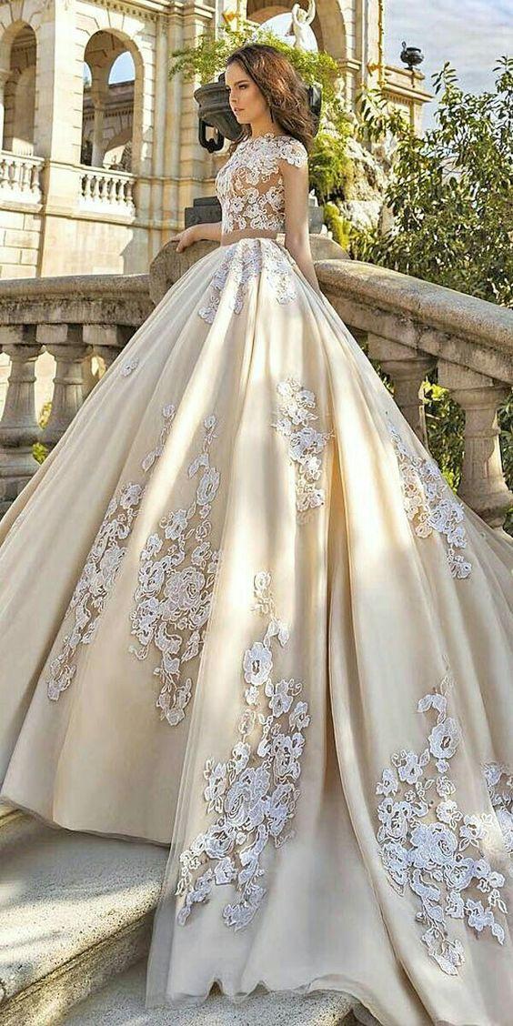 vestidos noiva estilo princesa 1