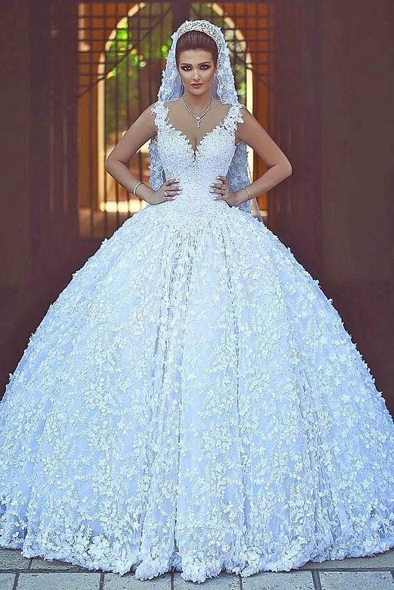 vestidos noiva estilo princesa