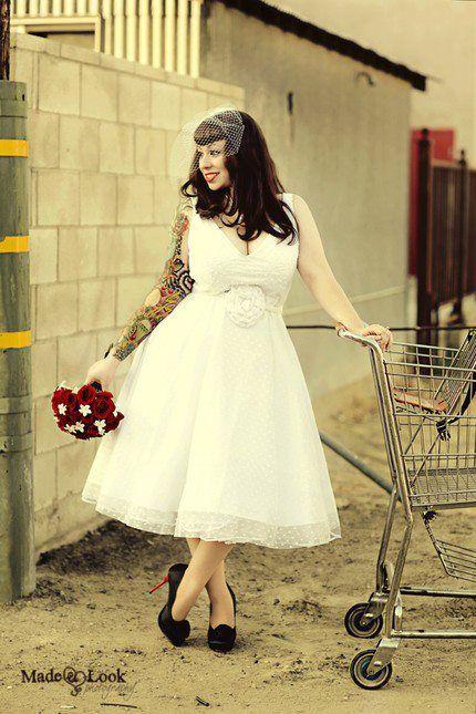 vestidos noiva pin up 7