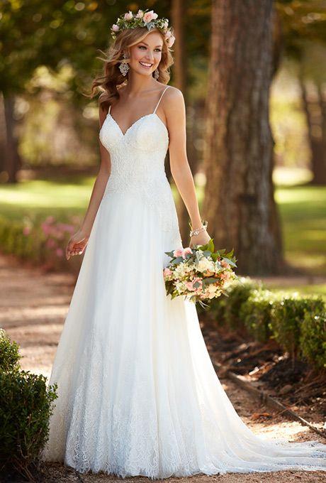 vestidos noiva simples