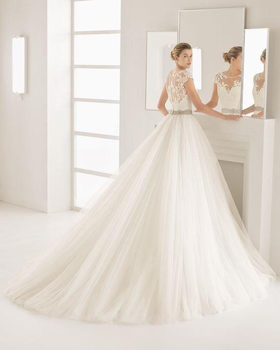 vestidos noiva tule 1