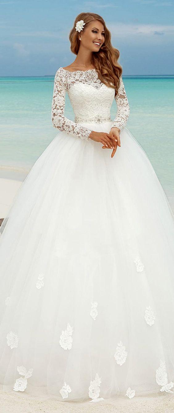 vestidos noiva tule 3