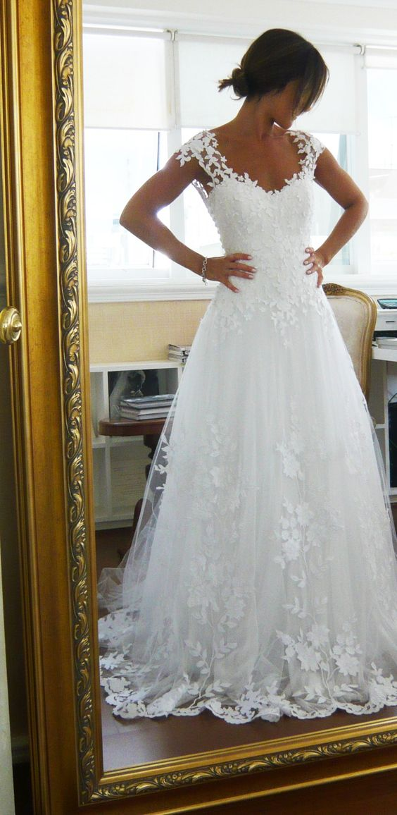 vestidos noiva tule 4