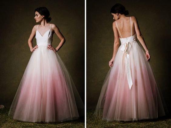 vestidos noiva tule 7