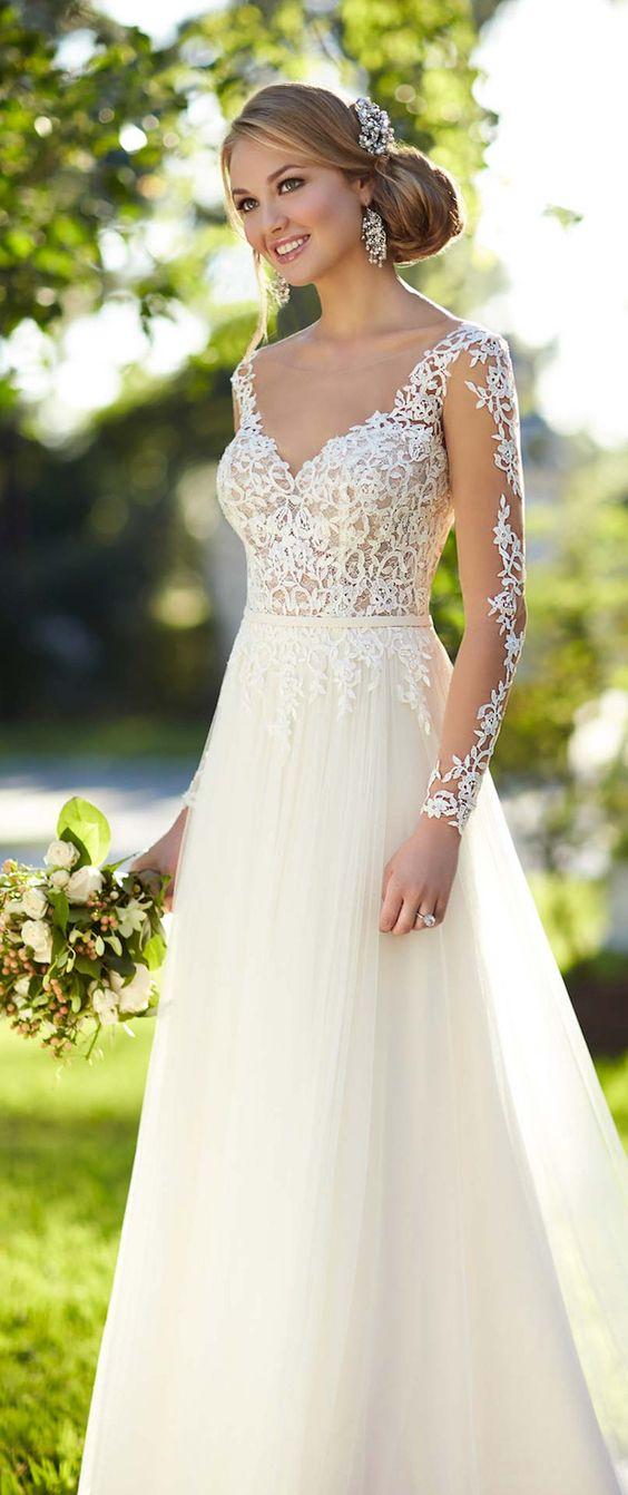 vestidos noiva tule
