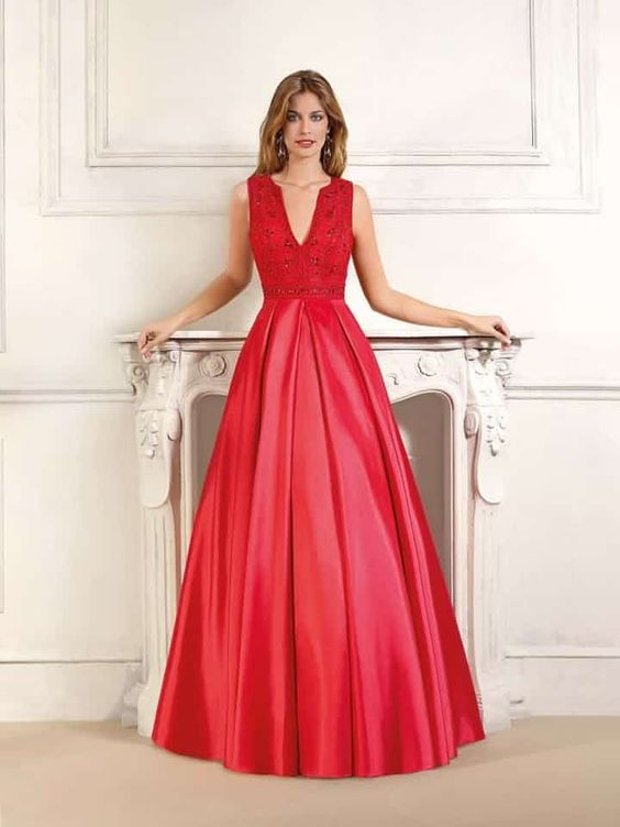 vestidos noiva vermelhos 2