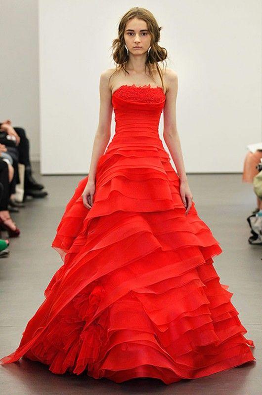 vestidos noiva vermelhos 3