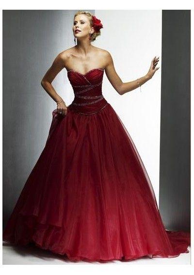 vestidos noiva vermelhos 5