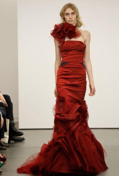 vestidos noiva vermelhos 6