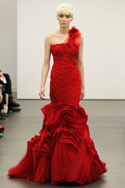 vestidos noiva vermelhos 7