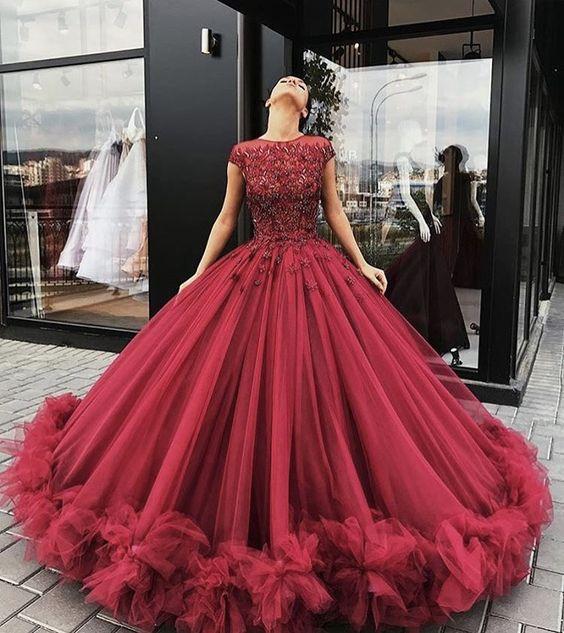 vestidos noiva vermelhos 9