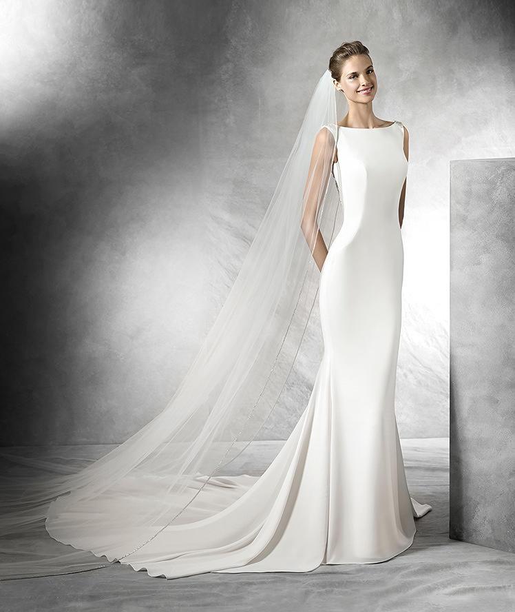 vestidos simples para noiva em 2016