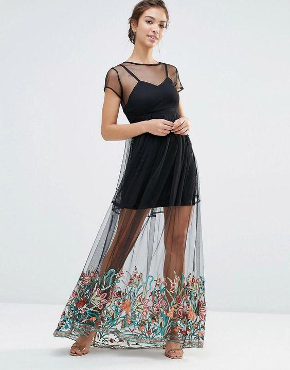 vestidos transparentes 1
